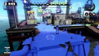 Splatoon Ranked S+ Snipes - Saltspray Rig (Tower Control)