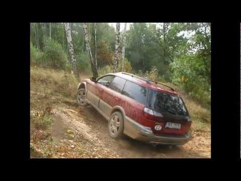 Subaru Outback 2,5AT 2002 vs. Outback 2,5 AWD 2007 vs. Mitsubishi , off road