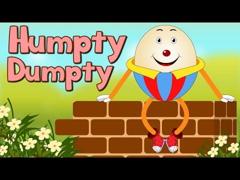 Humpty Dumpty Nursery Rhymes Collection | Animated English Rhymes For Babies & Toddlers video