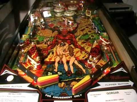 Gorgar Pinball Machine Video