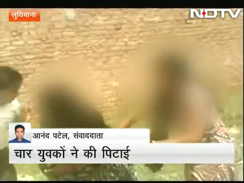 Caught on camera: Woman brutally beaten up in Ludhiana