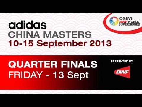 QF - WS - Porntip Buranaprasertsuk vs Li Han - 2013 Adidas China Masters