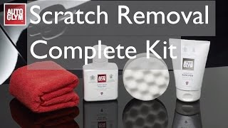 How to use the Autoglym Scratch Removal Complete Kit