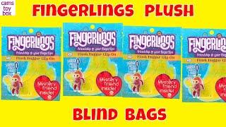Fingerlings Blind Bags Surprise Toys Opening Plush Hugger Clip On