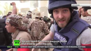 Chaotic battle between ISIS & govt forces in Libya (EXCLUSIVE)