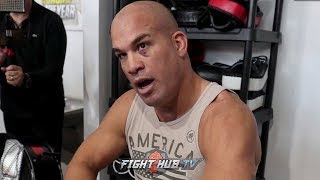 "TITO ORTIZ DEFENDS KHABIB IN MCGREGOR BRAWL ""HE WAS DEFENDING HIMSELF. KHABIB DID THE RIGHT THING"""