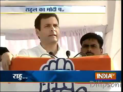 Addressing a rally Dumb Rahul Gandhi said Your Kids will get Cancer and your kids will Die