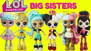 LOL SURPRISE BIG SISTER COMPILATION Bon Bon, Luxe, Heartbreaker, Troublemaker, Sugar, Spice