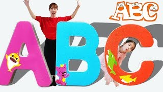 ABC SONG for Kids with Pinkfong Baby Shark Board 서은이의 알파벳송 영어공부 핑크퐁 아기상어 율동동요