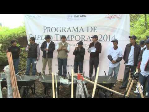 Empleo temporal y protección al medio ambiente: Américo Zúñiga