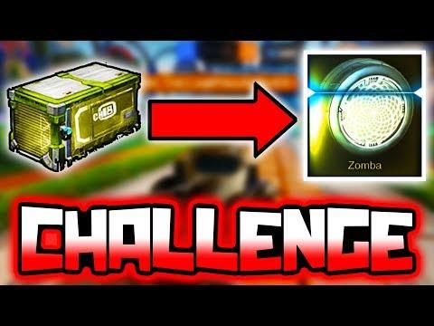 THE WHITE ZOMBA CHALLENGE!! ( Rocket League )