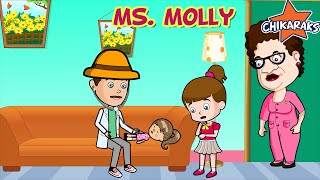Miss Molly Had A Dolly - Nursery Rhymes For Children | Chikaraks