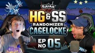VINNY'S LUCK REALLY CONTINUES!   Pokemon Heart Gold and Soul Silver Randomized Cagelocke Ep 05