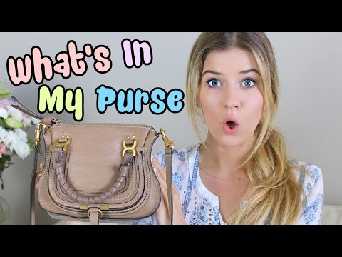 What's In My Purse: Summer 2014