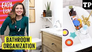 Kid-friendly bathroom hacks: potty training, organizing, bath toys and more! | Easy(ish)
