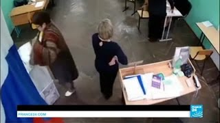 Russia: ruling party United Russia set to win in a landslide despite fraud allegations