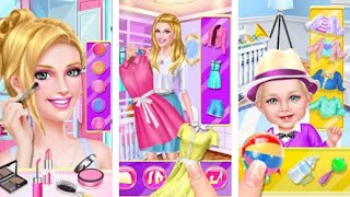 """Baby Care Salon Chic Makeover """"Beauty Inc Casual Games"""" Android Gameplay Video"""