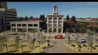 Courhouse Square Drone Flyby