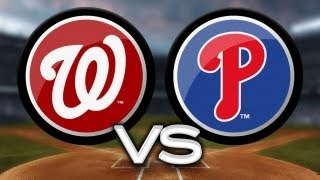 6/17/13: Browns RBI single walks off Phils vs. Nats