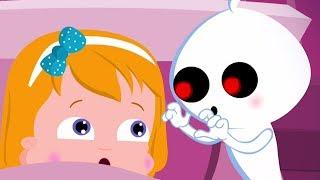 fantôme vilain | chanson d'halloween | chansons pour enfants | Naughty Ghost | Umi Uzi Française