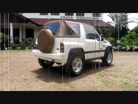 Suzuki Vitara Kanvas Dua Pintu, Punya Cerita Kecantol Di Jalan