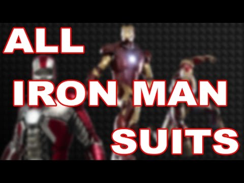 All Iron Man Suits Video #1