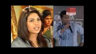 Priyanka Chopra seen leaving Salman Khan's house early in the morning.