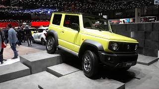 Suzuki Jimny   Geneva Motor Show 2019