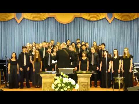 CENTRAL CHRISTIAN SCHOOL CONCERT CHOIR- I SAW THE LIGHT - 04/11/2011
