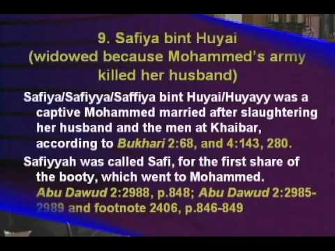 THE HAREM OF THE MUSLIM PROPHET MOHAMMAD: HOW MANY WIVES DID HE HAVE & WHO WERE THEY?