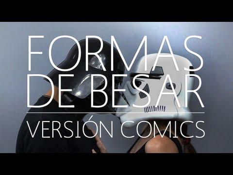 Formas De Besar: Versión Comics