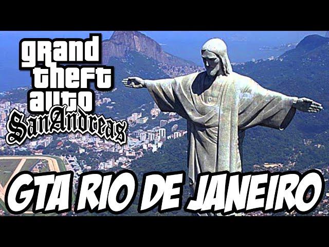 GTA San Andreas - RIO DE JANEIRO MOD VAGABUNDO É FODA
