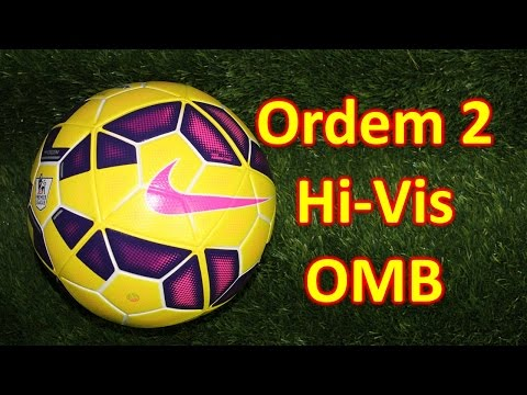 Nike Ordem 2 Hi Vis Match Ball Review - BPL and La Liga