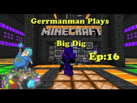 Minecraft Big Dig Ep:16 Power Armor