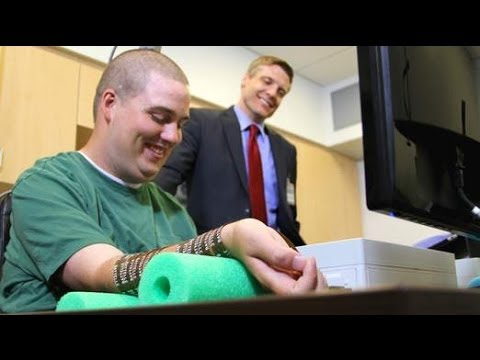 Heartwarming Video Of Paralysed Man Moving Hand With Brain Microchip