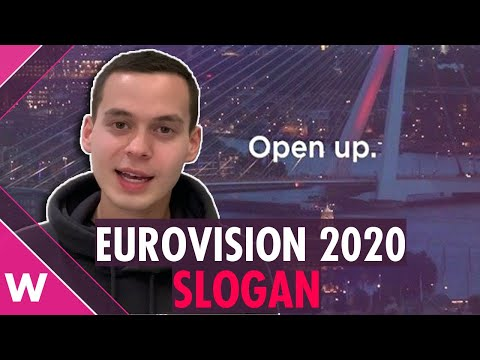 "Eurovision 2020 slogan is ""Open Up"" 