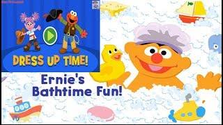 Sesame Street: Holiday Dress Up Time | Ernie's Bathtime Fun  | Fun Game For Kids | Kids TV Channel