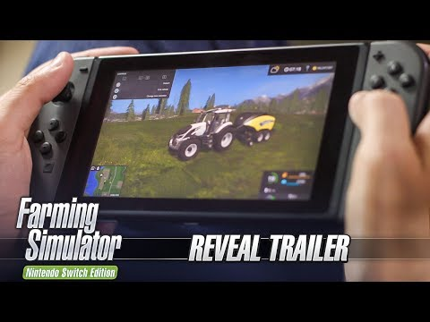 Farming Simulator Nintendo Switch Edition – Reveal Trailer