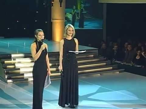 Vlatka i Blaženka - Pozdravna najava @ Miss BiH 2001