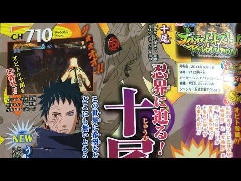 Naruto Shippuden: Ultimate Ninja Storm Revolution | Uchiha Obito+ Juubi scan!