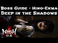 Nioh - Mission 2 - Deep in the Shadows Boss Guide - Hino Enma