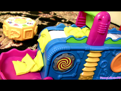 Play-Doh Mega Fun Factory Playset Toy Review 3D Play Dough Mega Fábrica Loca by Disneycollector