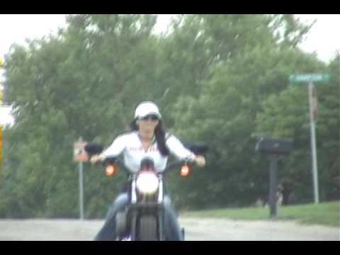 Christine's New 2008 Harley Davidson Sportster Nighster XL 1200N Video