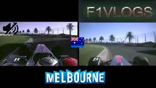 F1 2009 Australia    [ONBOARD COMPARISON] - (McLaren-Mercedes)