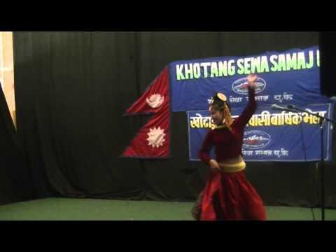 rupa rai dancing in khotang halesi by parbati rai