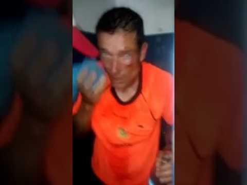un arbitro fue brutalmente agredido durante un partido del torneo federal b