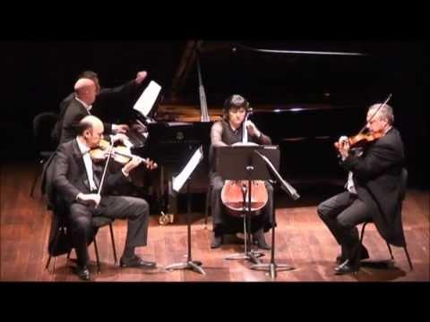 Brotons Piano Quartet fragment, III Allegro. A. Guinovart, Cristian Chivu, Paul Cortese, M. Cristea
