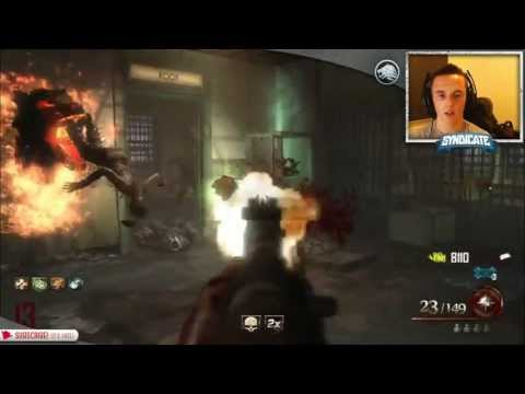 Mob Of The Dead - Round 35 Speed Run! Gameplay/Tutorial! w/Syndicate!