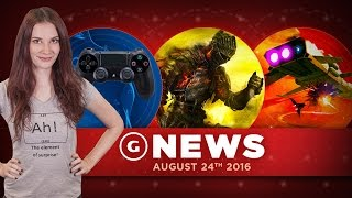 New PS4 Controller Details Leak & New No Man's Sky Patch For PS4! - GS Daily News