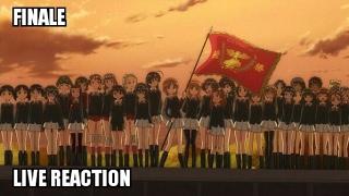 Finale: Girls Und Panzer Episode 12 Reaction